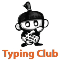 Logo for Typing Club website